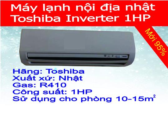 Máy lạnh nội địa Toshiba inverter 1HP có giá 7.400.000