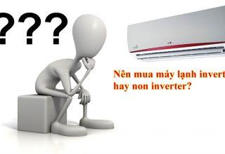 Nên mua dòng máy lạnh nào